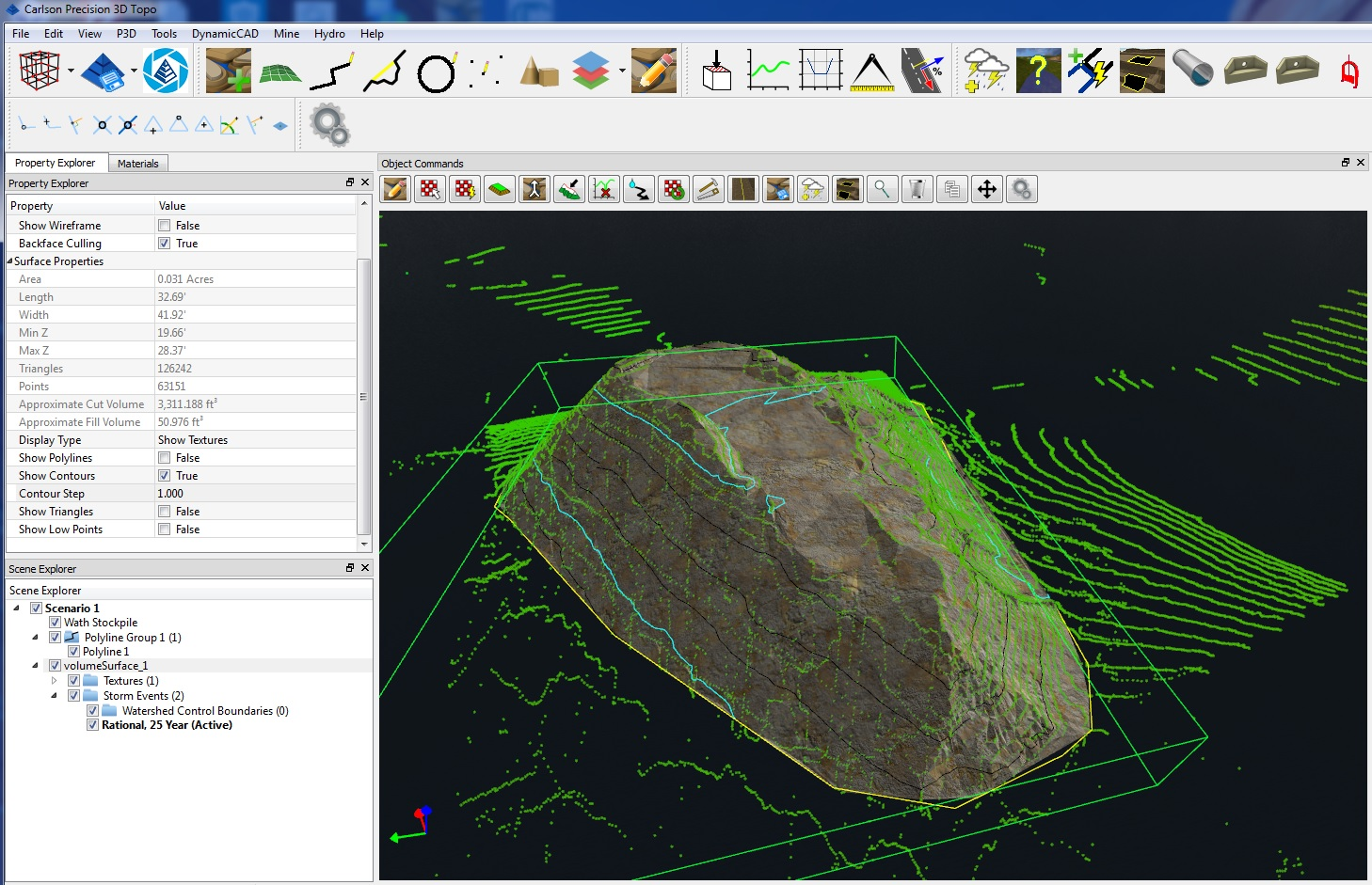 Working with Carlson Precision 3D Topo 2016.2 full