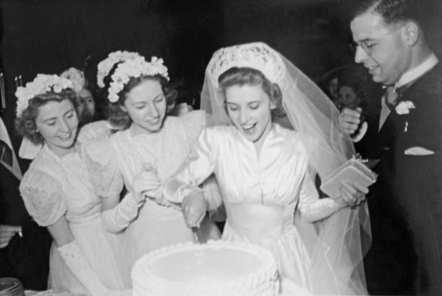 Marriage Harry & Marie de Haan, Shanghai, 1941