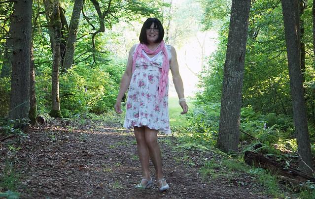 CG on a woodland walk