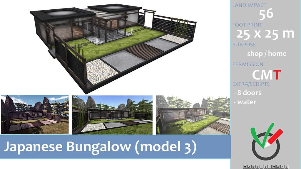 * M^2 * Japanese Bungalow (model 3)