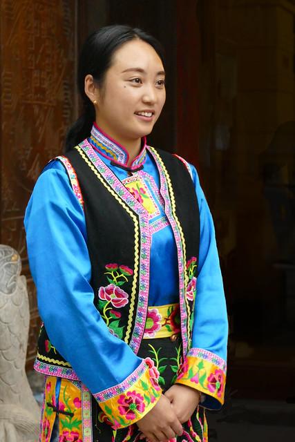 Jeune femme de l'ethnie Qiang