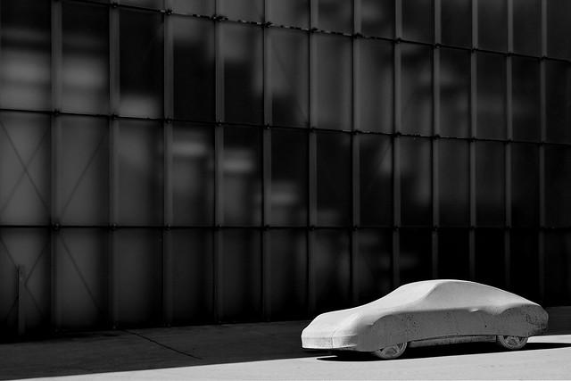 concrete Porsche