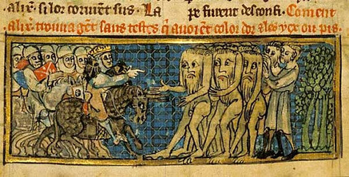 Acefali nelle miniature medioevali