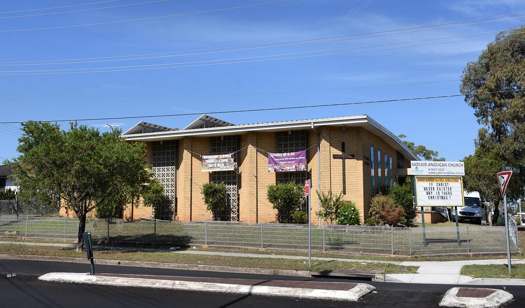 Anglican Church, Sadleir, Sydney, NSW.