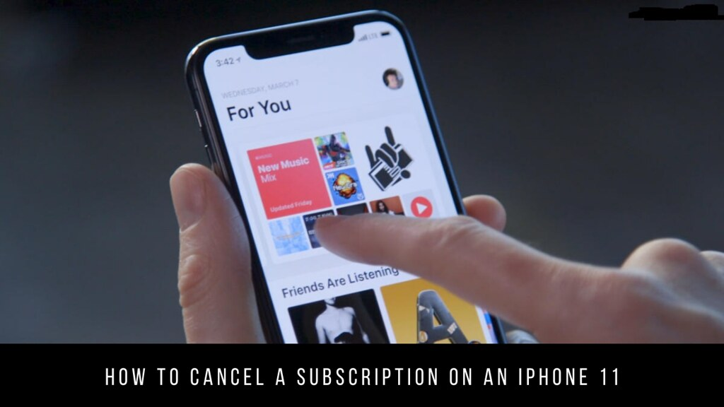 How to Cancel a Subscription on an iPhone 11