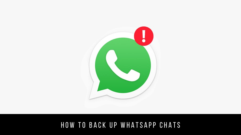 How to back up WhatsApp chats