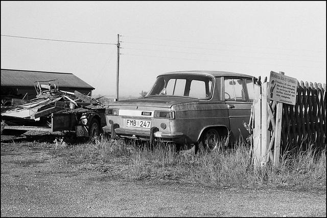 Renault - Kodak Tri-X 400