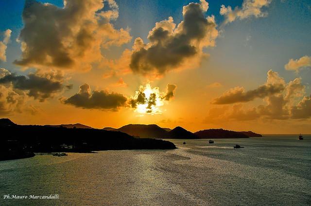 Tramonto caraibico (Antigua e Barbuda)