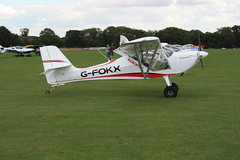G-FOKX Aeropro Eurofox [LAA 376-15272] Sywell 010919