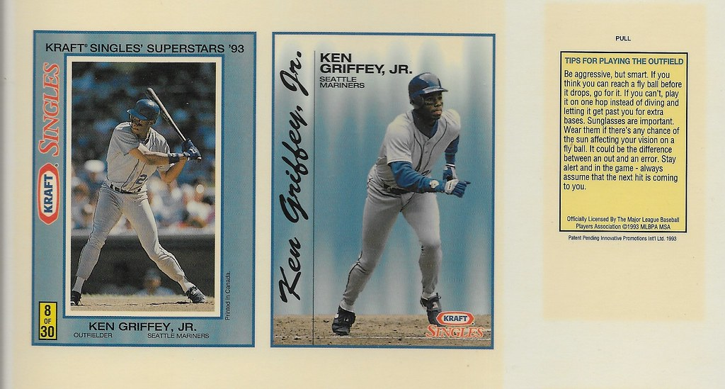 1993 Kraft Panel - Griffey Jr, Ken