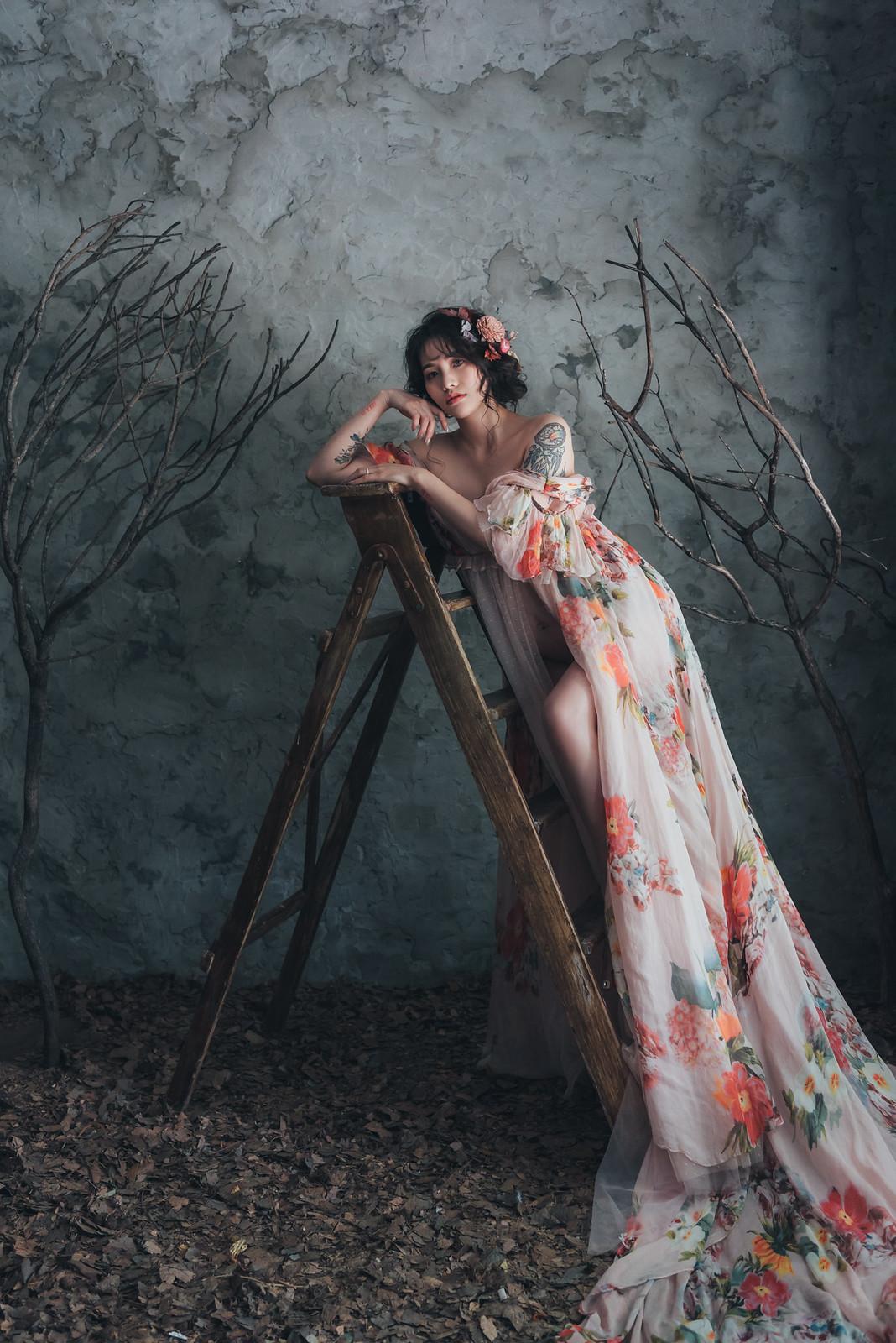 《孕婦寫真》小均 / 攝影師 Eric Yeh / 良大攝影工作室