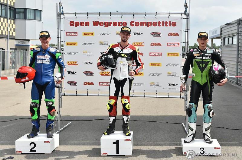 ONK SuperCup 1000 podium