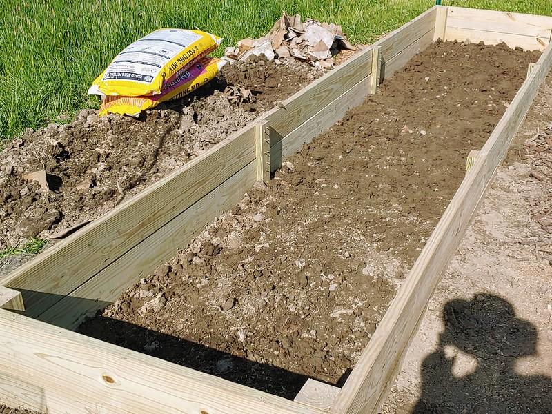 L1: Adding a light layer of native soil