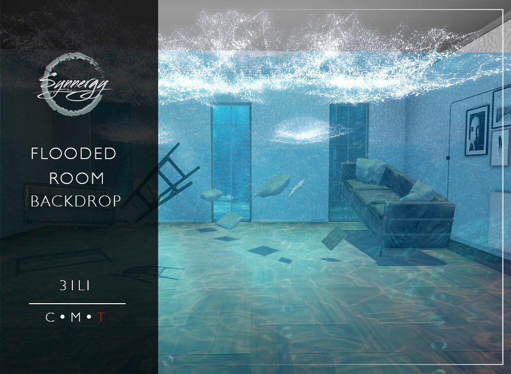 Flooded Room Backdrop @ Main-store Release
