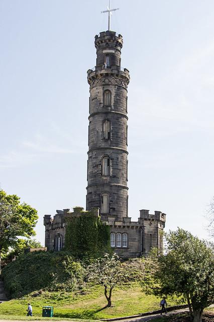Nelson Monument, Calton Hill, New Town, Edinburgh, Scotland