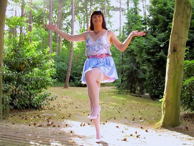 Cheerful dance