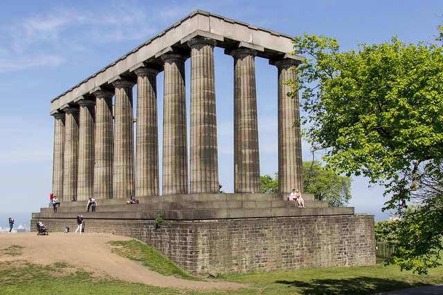 National Monument of Scotland, Calton Hill, New Town, Edinburgh, Scotland