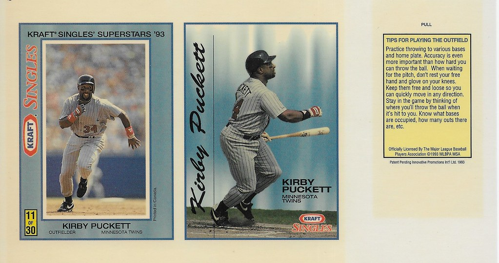 1993 Kraft Panel - Puckett, Kirby