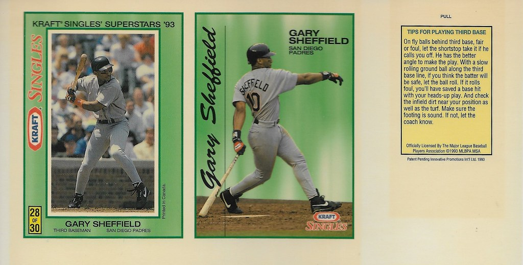 1993 Kraft Panel - Sheffield, Gary