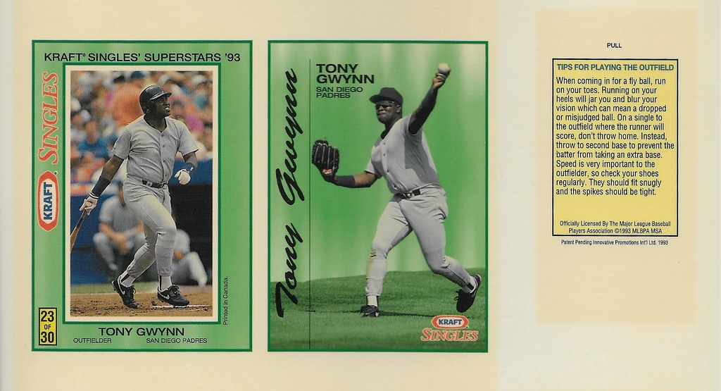 1993 Kraft Panel - Gwynn, Tony