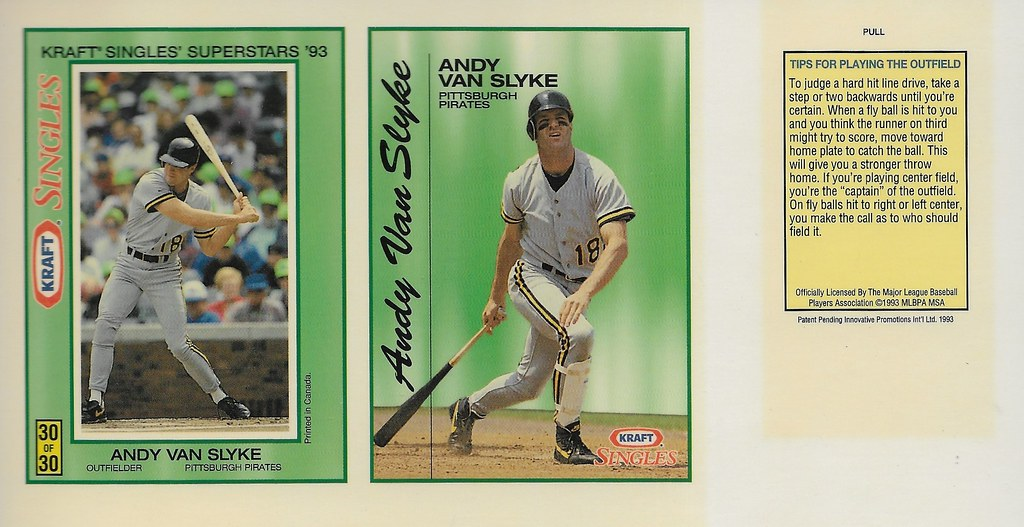 1993 Kraft Panel - Van Slyke, Andy