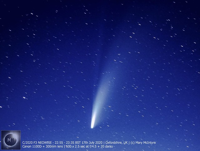 Comet C/2020 F3 NEOWISE (300mm lens) 17/07/20
