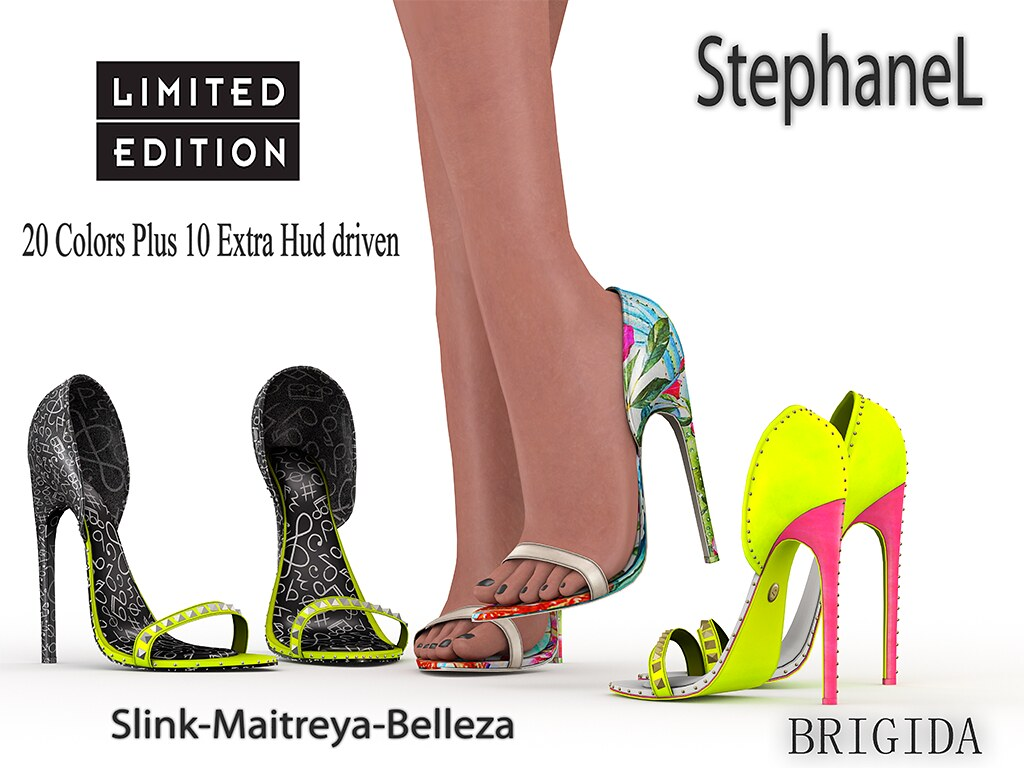 60L [StephaneL] BRIGIDA SHOES LIMITED EDITION FATPACK