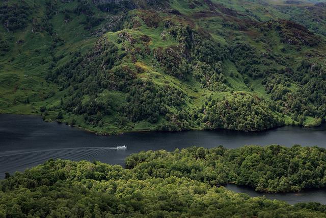Ferry on Loch Katrine