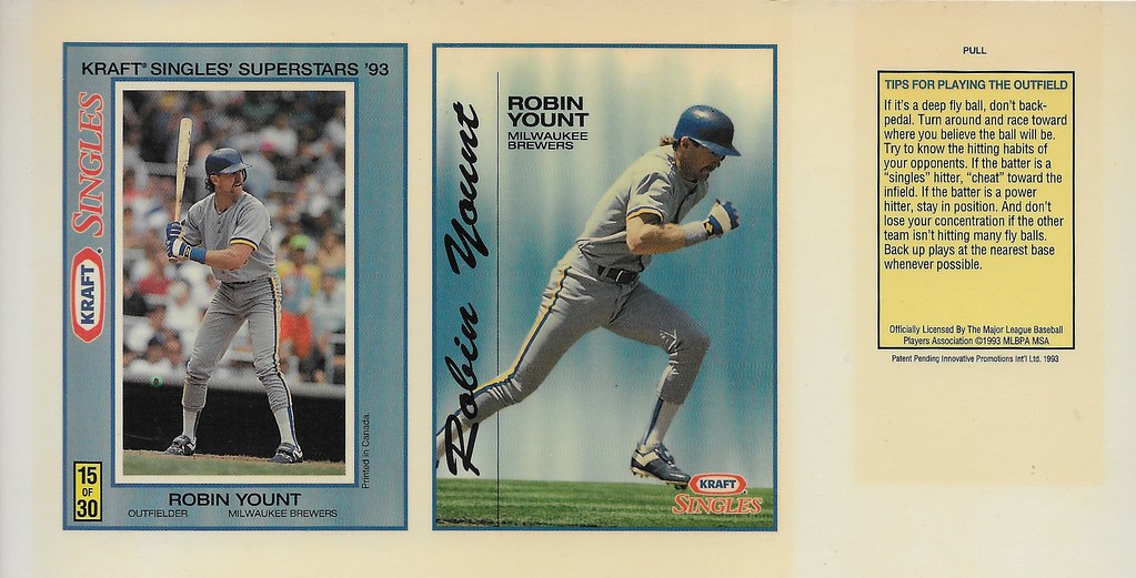 1993 Kraft Panel - Yount, Robin