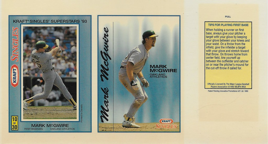 1993 Kraft Panel - McGwire, Mark
