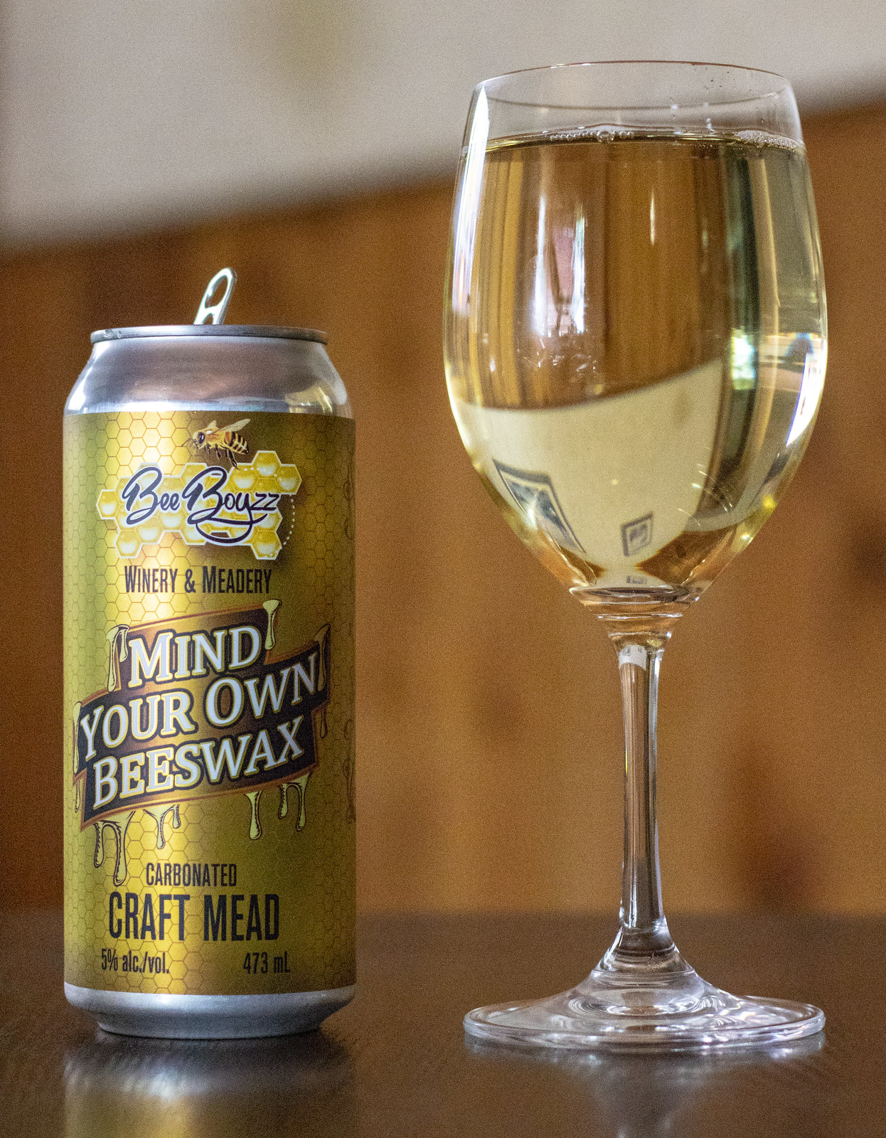 Bee Boyzz Mind Your Own Beeswax Carbonated Craft Mead