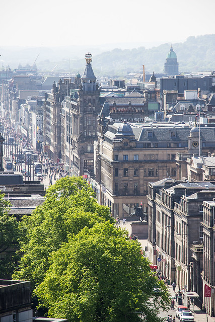Princes Street, New Town, Edinburgh, Scotland