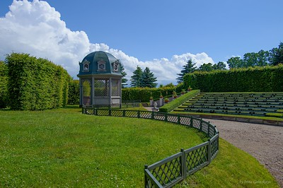 Amphitheater in Rundāle Garden