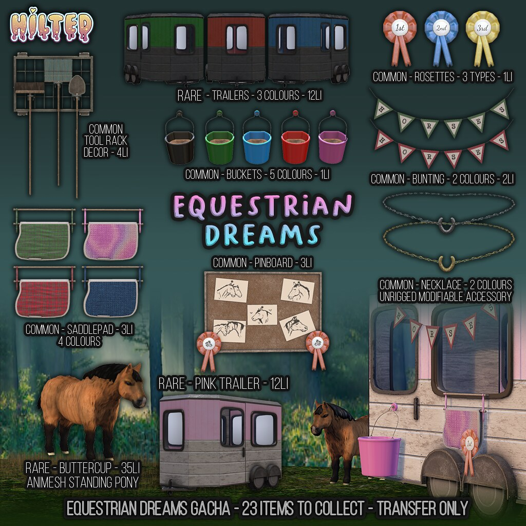 HILTED – Equestrian Dreams Gacha