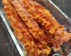 Bacon (bagt i ovn)+