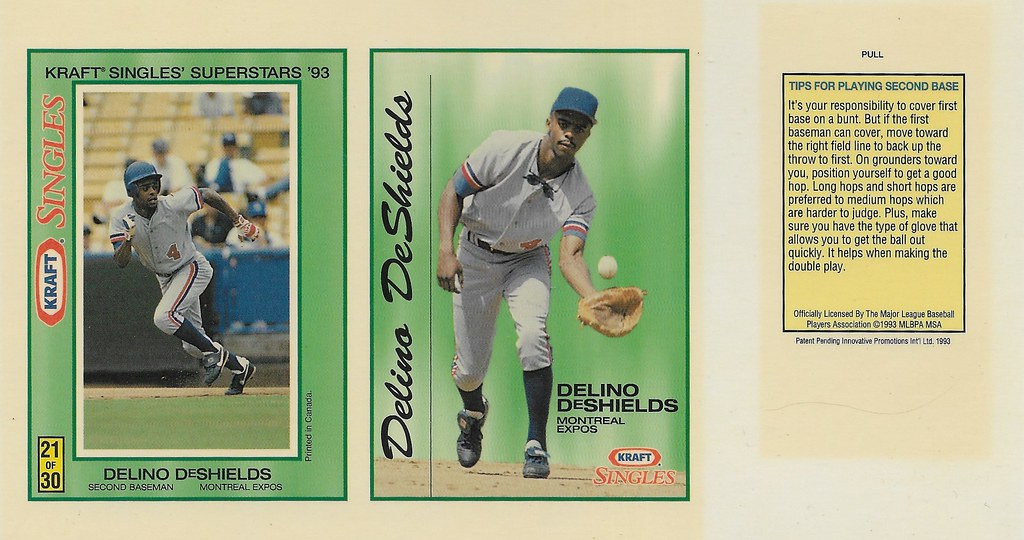 1993 Kraft Panel - Deshields, Delino