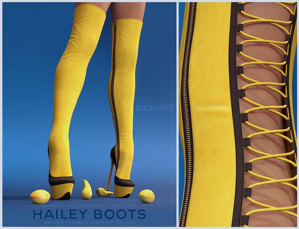 Enchante' – Hailey Boots @ equal10