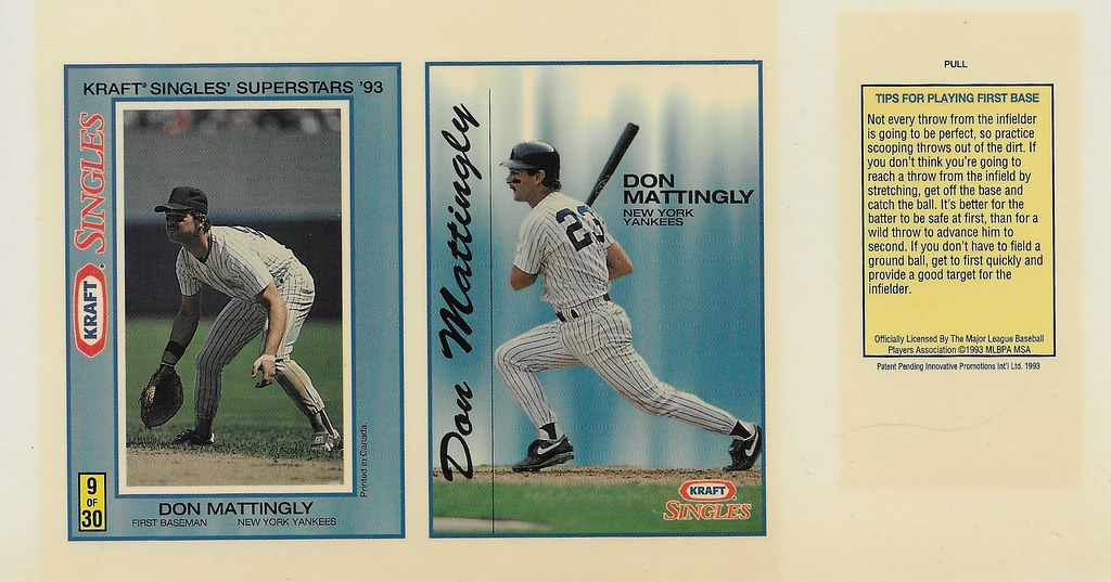 1993 Kraft Panel - Mattingly, Don