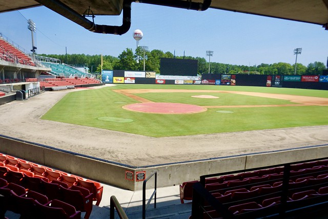 Carolina Mud Cats five County Stadium- Zebulon, NC
