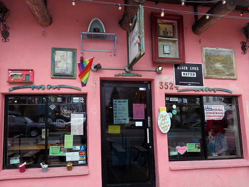 The pink, open for everyone, Por Que No in PortIand, Oregon