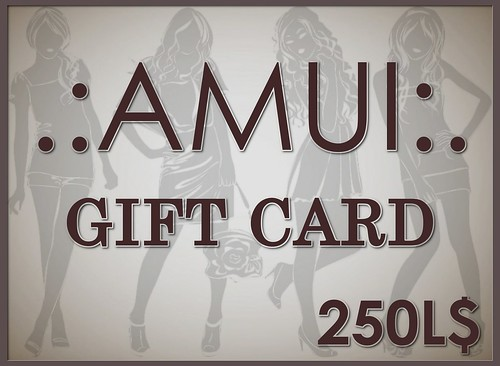 250L$ FREE GIFT CARD