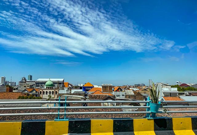 Beautiful sunny day in Surabaya