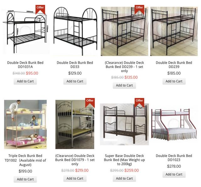 furnituresg loft bed & bunk beds