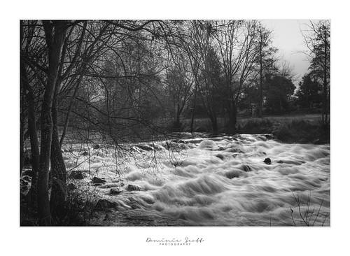dominicscott wairarapa masterton newzealand river flow waterfall rapids longexposure monotone blackandwhite landscape sony ilce7rm3 sel2470gm leefilters manfrotto winter water waipoua