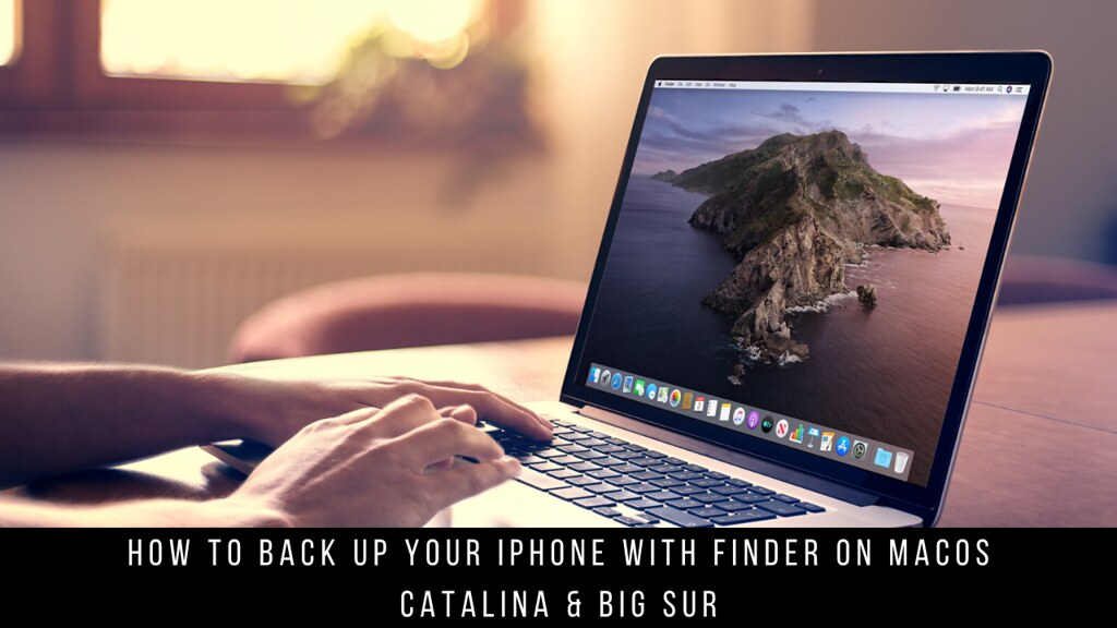 How to back up your iPhone with Finder on macOS Catalina & Big Sur