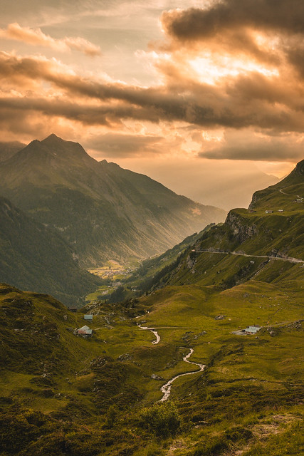cloudburst - Klausenpass, Switzerland