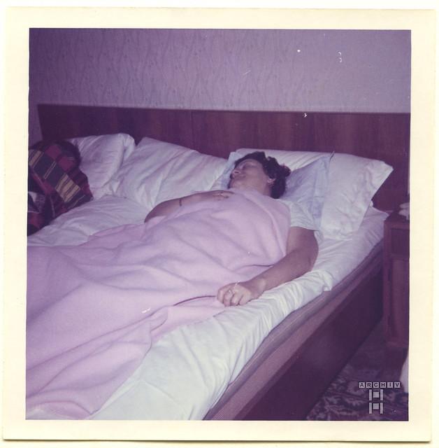 ArchivTappenX877 Album u, Unterkunft in Novi Sad, Serbien, 1970er