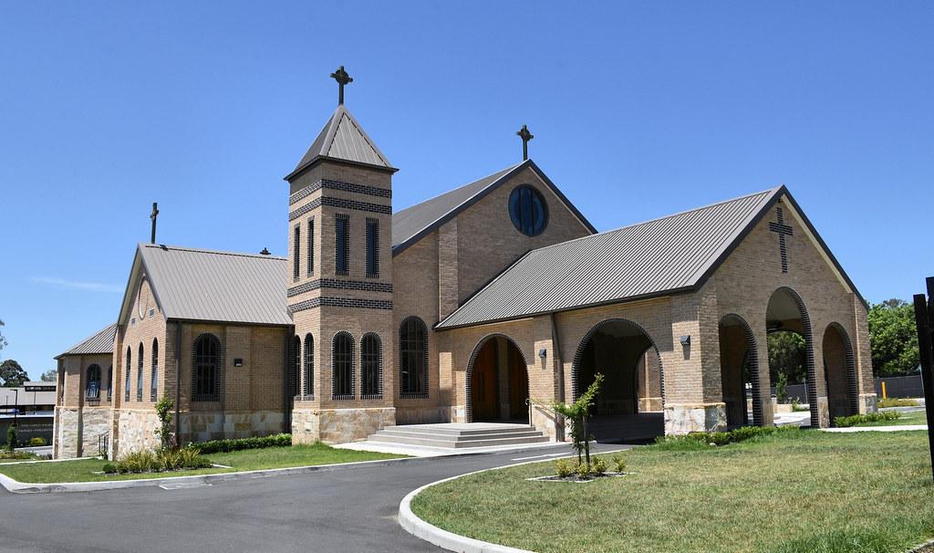 Holy Family Catholic Church, Ingleburn, Sydney, NSW.