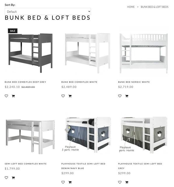 deer industries bunk beds