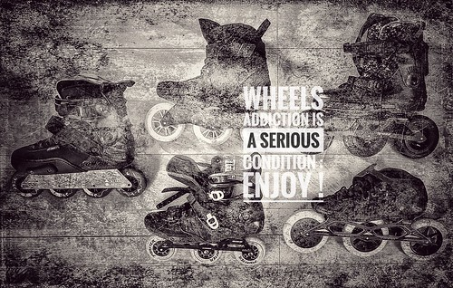 Wheels addiction is a serious condition